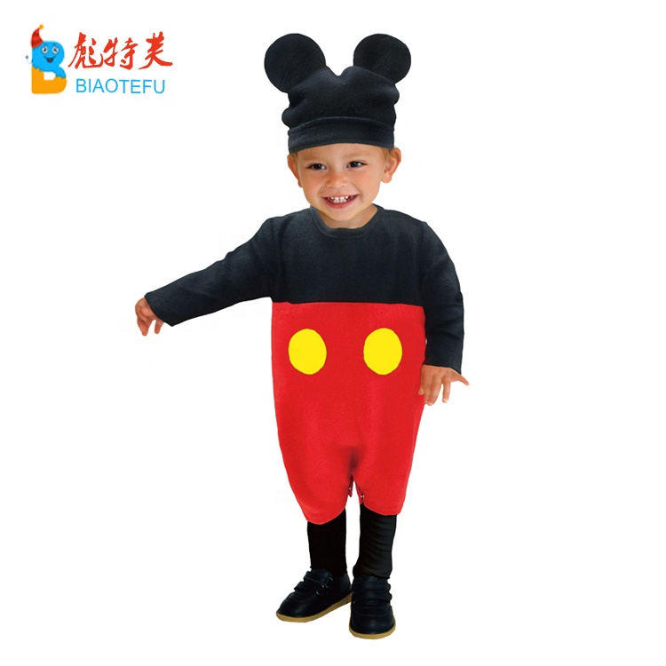 child baby mouse ears cosplay jumpsuit costumes