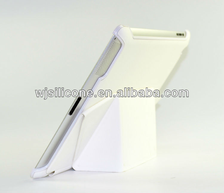 Tablet smart cover with stand for ipad