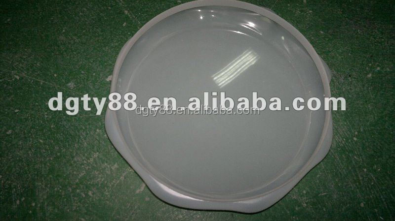 custom order round shape PC plastic cover for lamp shades