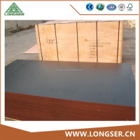 18mm Film Faced Plywood fro Construction / Hardwood Core Formwork Plywood / 4*8ft Phenolic Board