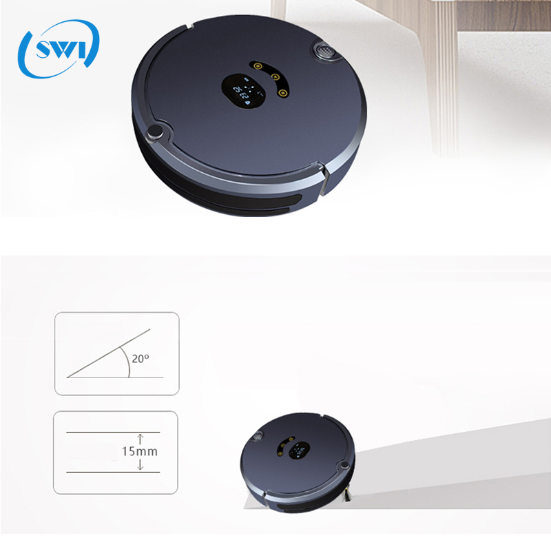 2017 New style multifunction robotic auto vacuum cleaner, phone APP monitoring i ilife good robot vacuum cleaner