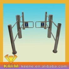 Manual Resetting Bridge Round Angle Tripod security turnstile gate