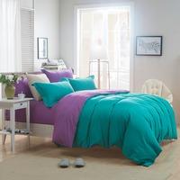 polyester Fashion Bedding Set Bed Sheet Duvet Cover Set Bed Linens hlq