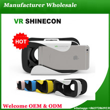 New Arrival VR Box Headsets 3D Glasses 2.0 Camera Shinecon 9D Cardboard All In One Ps4 Play Store App Free Download Bf Movie