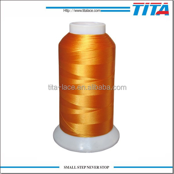 120d/2 Shiny color machine embroidery thread,high quality and cheap price