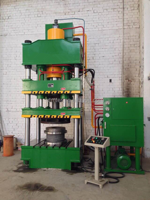 Four column hydraulic press, Bending machine