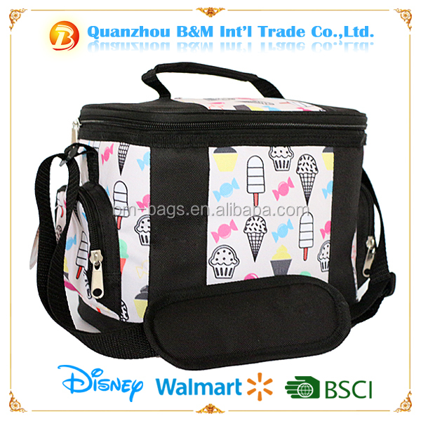 600D Promotional recycled outdoor Ice pack insulated cooler bag for frozen food