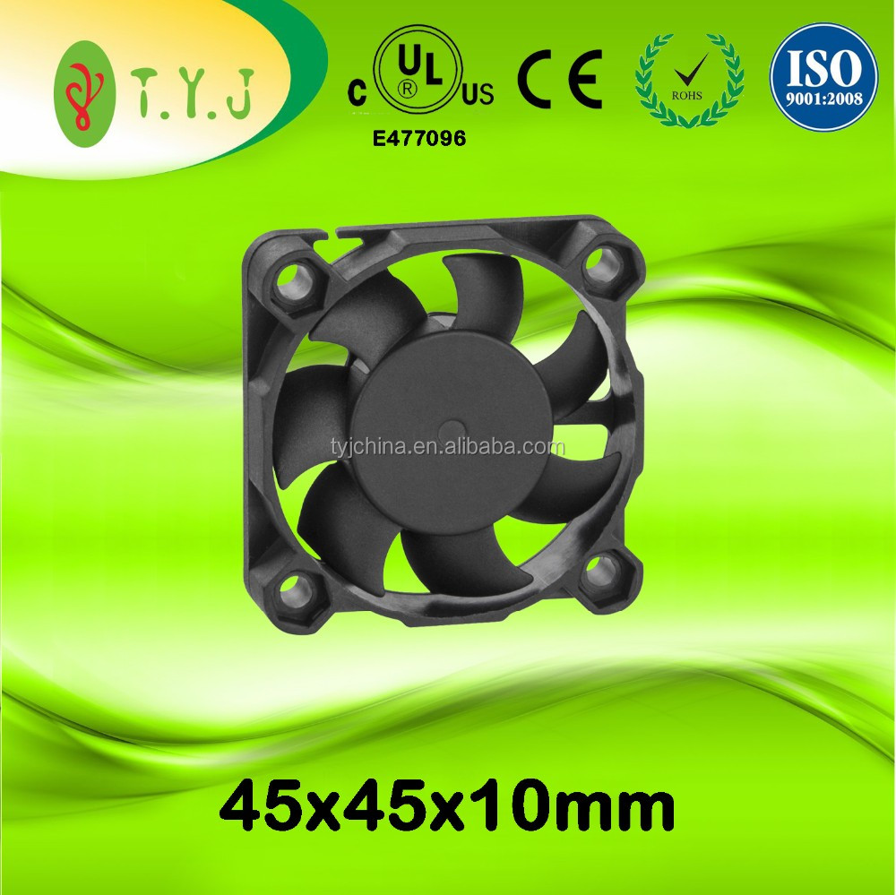 12v 45x45x10mm 5000rpm dc brushless cooling fans