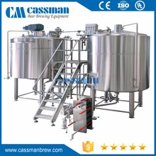 New craft 10bbl industrial commercial beer brewing equipment for bar