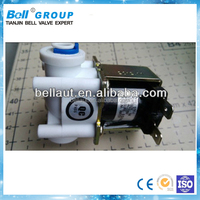 220VAC electric Plastic Solenoid Valve for drinking fountain