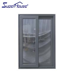 Superhouse Interior and exterior AS2047 high quality double glass aluminium sliding heavy door with German brand hardware