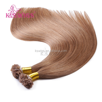 K.S WIGS New Popular Flat Tip Hair Extensions