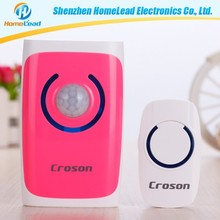Working voltage 3.2V-5.5V Induction Alarm wireless smart doorbell