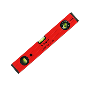 High Precision 400MM Aluminium Spirit Level With 3Vial