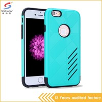 Factory direct supply hot sale tpu pc phone case for iphone 6 6s 6 plus 5 5s