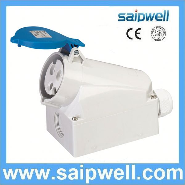 Newly Design 16a 3p 220v ip55 new type industrial plug and socket SP