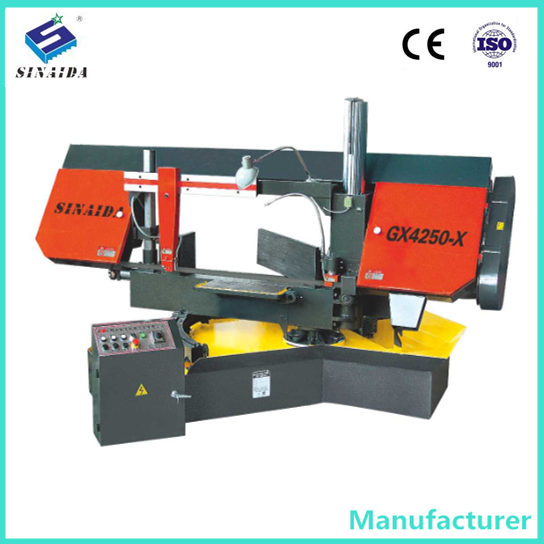SINAIDA Brand 500mm angle cut 45 degree band saw machine Band Saw Pipe Cutting Machine Band saw machine