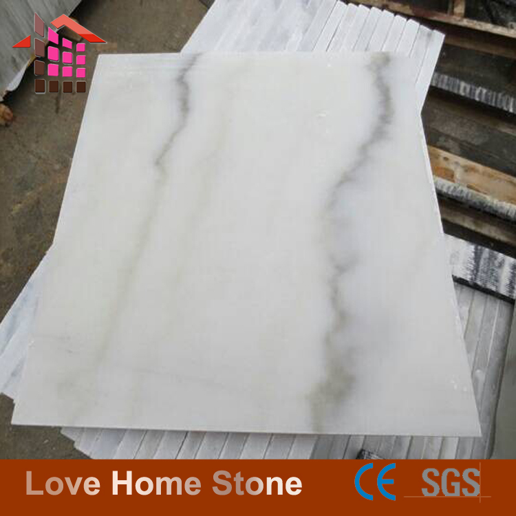 Sale guangxi white marble slab