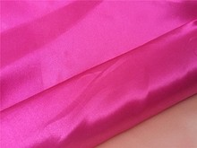 Cheap price wholesale bright polyester shining satin fabric for bedding sets