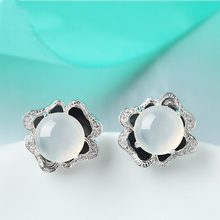 moonstone 925 sterling silver earring gemstone natural jewelry