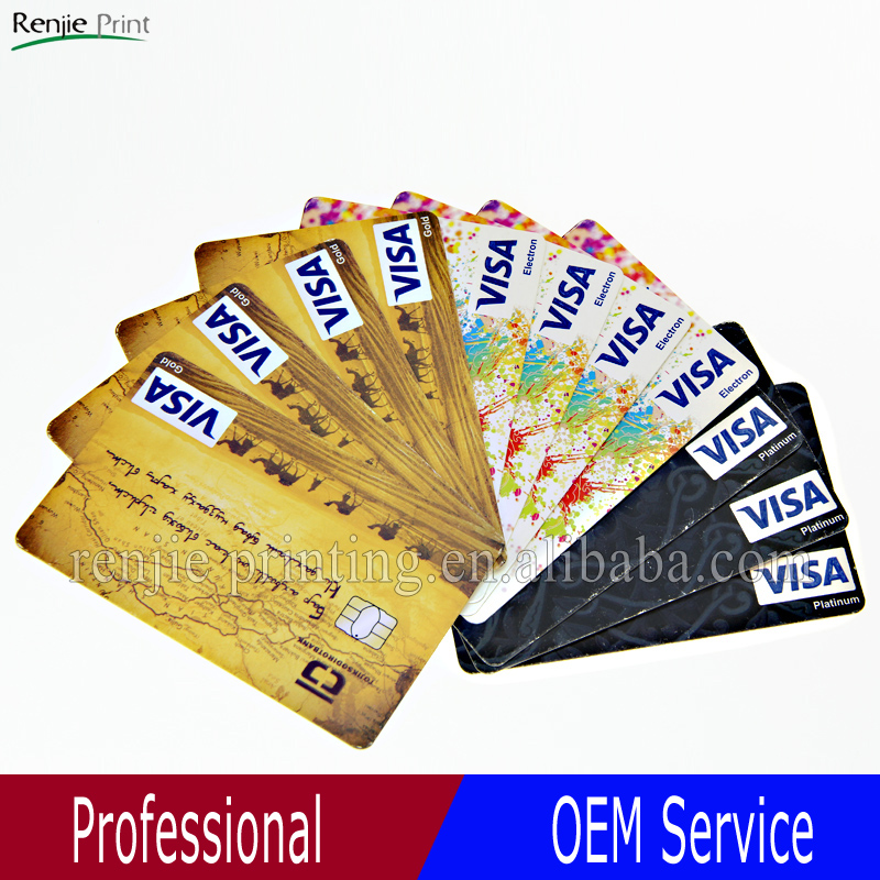 High Quality Cheap VISA Card Printing