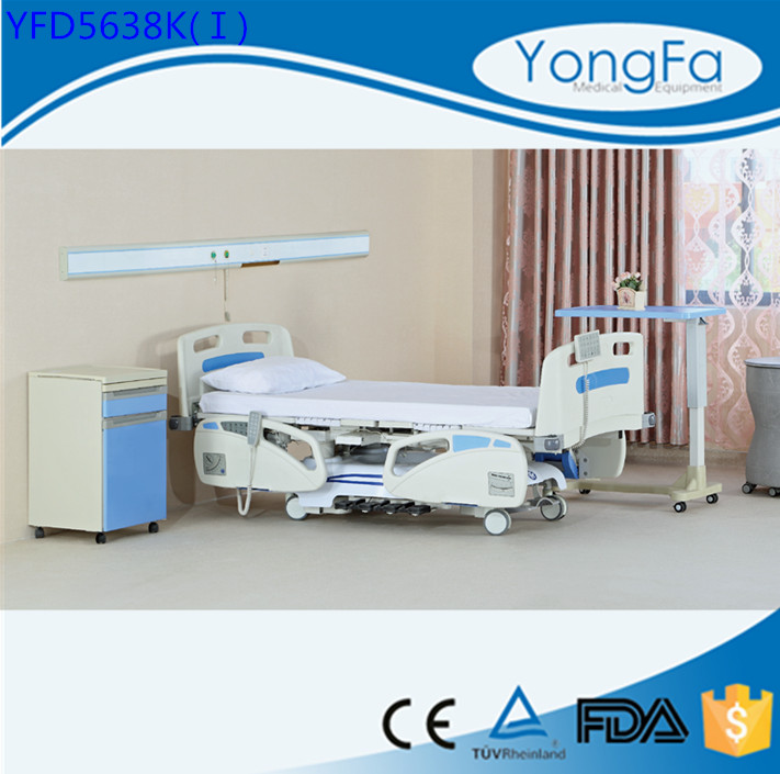 Ultra-long warranty Simple medical ce five functions electric icu hill rom hospital bed