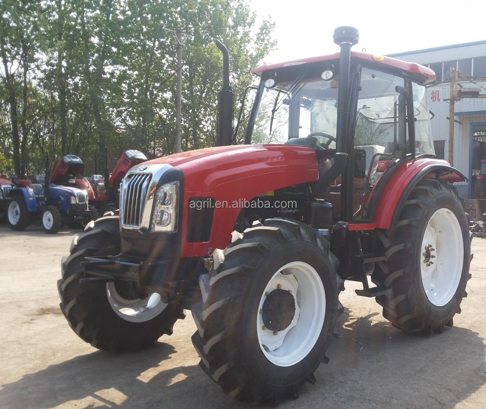 new design hot sail farm tractor 1304 ,130Hp 4 WD, use YTO,DEUTZ, PERKNs engine,fitted with front end loader