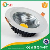 Shangda Supermarket/commercial specifying accent lighting high efficiency 30W COB LED Downlight