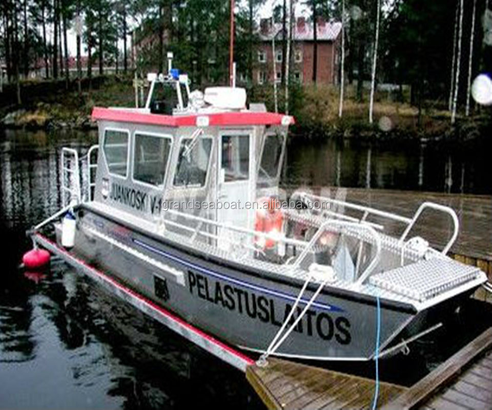 6.8m Aluminum Patrol Boat,Alloy land craft for sale