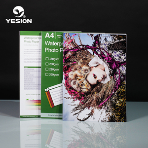 Yesion A3 A4 A6 5R 4R size glossy photo paper for ink-jet printer