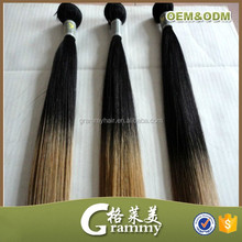 wholesale high quality 9a grade brazilian hair weave cheap indian remy weave cheap silk straight ombre hair weave