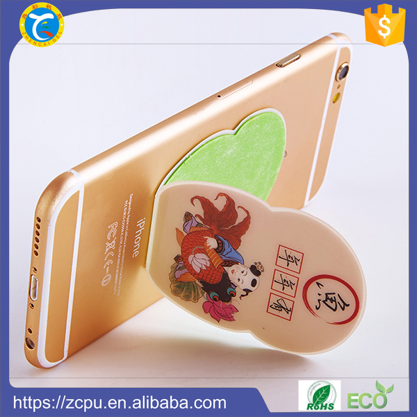 anti slip sticky mobile phone kickstand