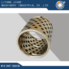 Copper casting main shaft bushing cultivator spare parts