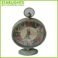 New Style Retro Square Metal Desk Clock