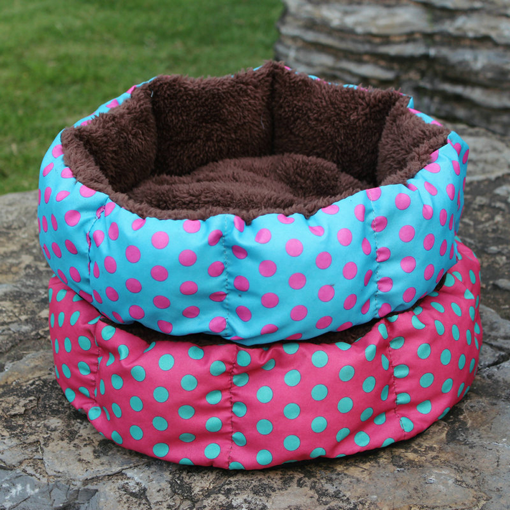 Hexagonal Spot Colorful Low-price Pet Beds dog beds