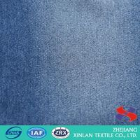 Factory Supply good quality raindrop jacquard denim fabric with fast delivery