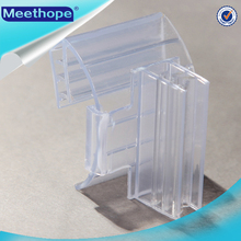 PVC Wobbler Dangler Shelf Talker Supergrip PVC Extruded Shelf Talkers for In-store Promotion Plastic Shelf Talker for Display