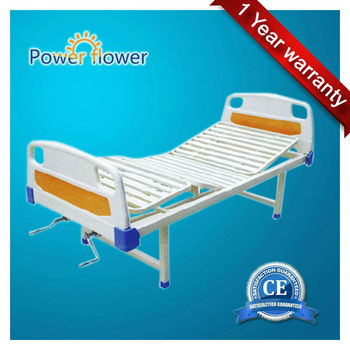 CE ISO approved manual hospital bed