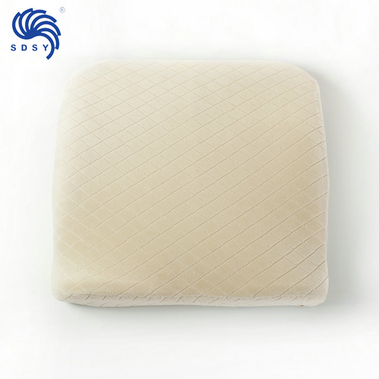 High quality Simple comfortable Memory foam car driver seat cushion