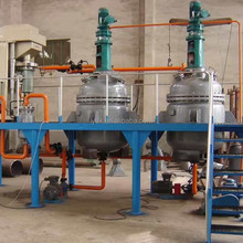 used engine oil distillation vessel for base oil converting by electricity heating