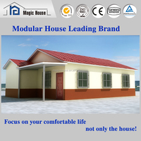 Fast shipment your Personal Tailor prefab house, quick and easy to assemble famliy house