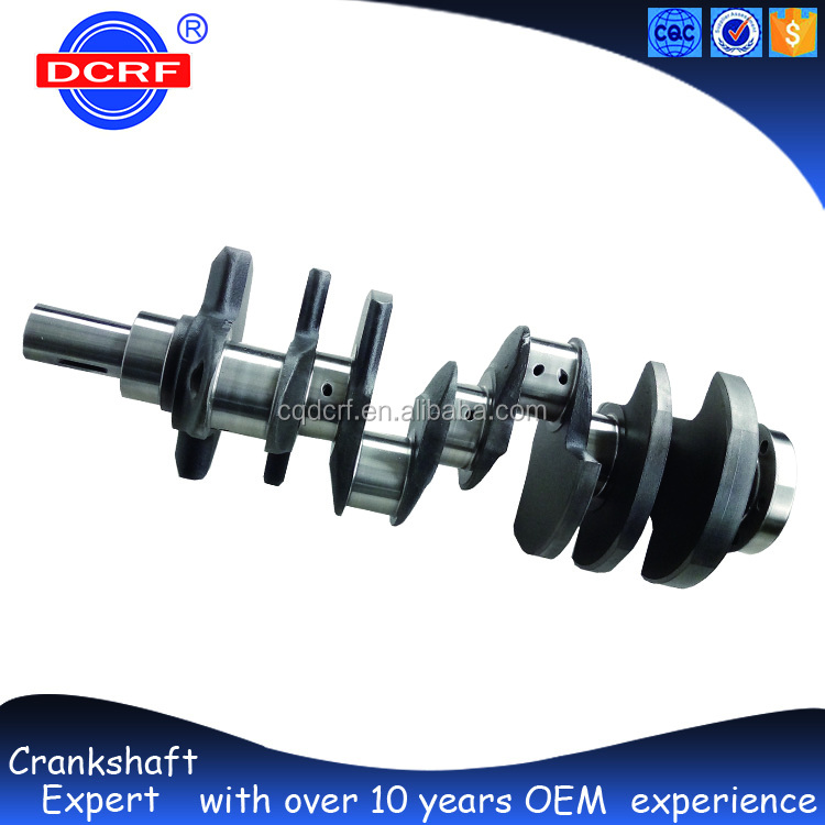 Forged Steel Crankshaft Parts Car Engine Parts Car Crankshaft Pulley