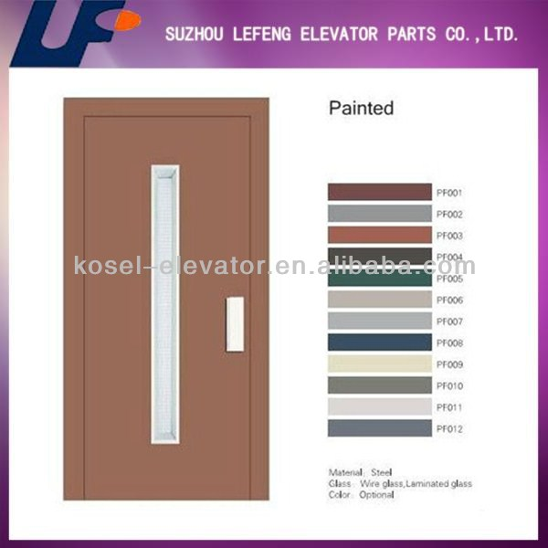 Semi-automatic Elevator Door / Manual Elevator Door