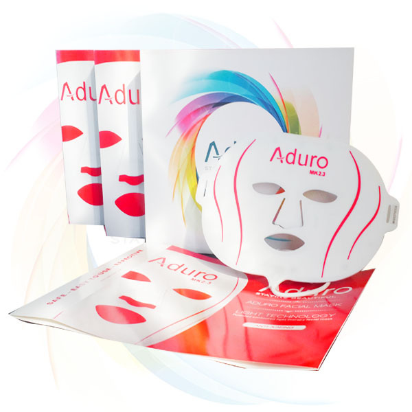 home LED skin care mask light therapy home
