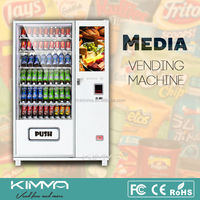 26' TOUCH SCREEN vending machine for Salad