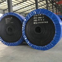 Qulity EP / NN / CC fabric rubber conveyor belts used in coal mine made in china