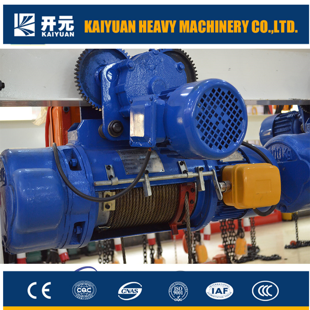 shandong electric wire rope 5 ton electric hoist