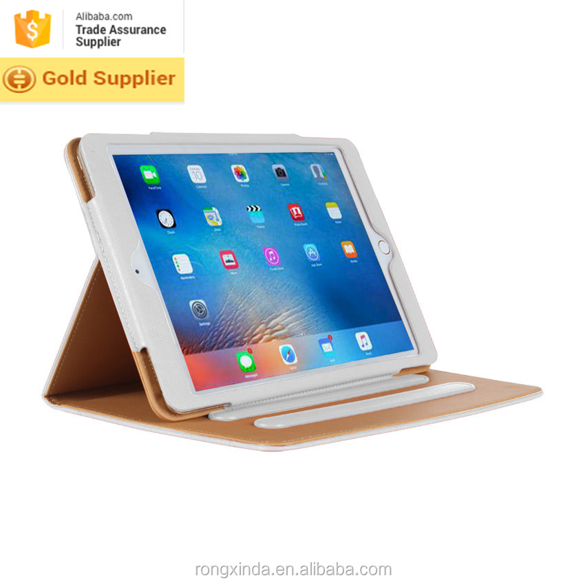 New alibaba bulk buy in china flip cover coming 10 colors available ultra thin Leather Flip cover for ipad pro 12.9 tablet case