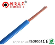 Power Wire/Copper/PVC insulated electric wires 450/750V