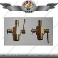 China supplier brass drain cock valve for tractor water tank